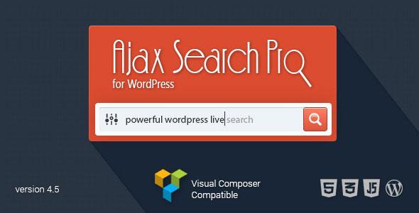 Ajax Search Pro for WordPress v4.6 - Live Search Plugin