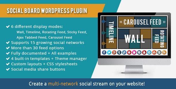 WordPress Social Board v2.5