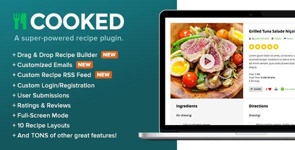Cooked v2.3.5 - A Super-Powered Recipe Plugin