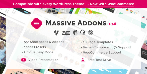 Massive Addons for Visual Composer v1.3.6