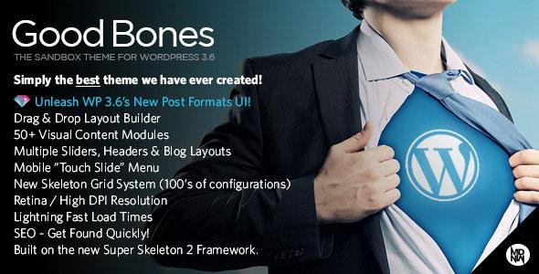 GOOD BONES V3.2.0 - THE WP SANDBOX THEME