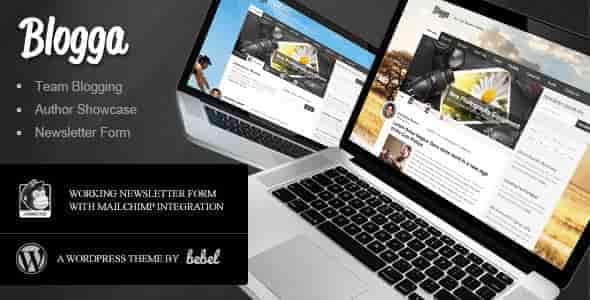 Blogga - Team Blogging for WordPress News Editorial