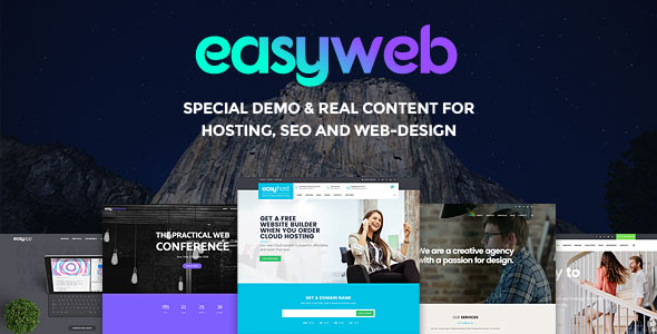EASYWEB V2.3.0 - WP THEME FOR HOSTING, SEO AND WEB-DESIGN