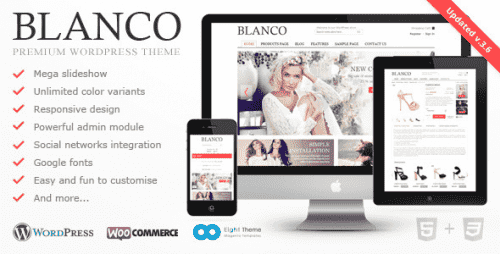 Nulled Blanco v3.6.2 – Responsive WordPress Woo/E-Commerce Theme