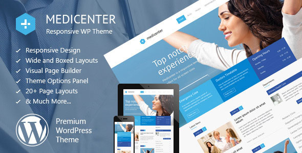 MEDICENTER V8.3 - RESPONSIVE MEDICAL WORDPRESS THEME