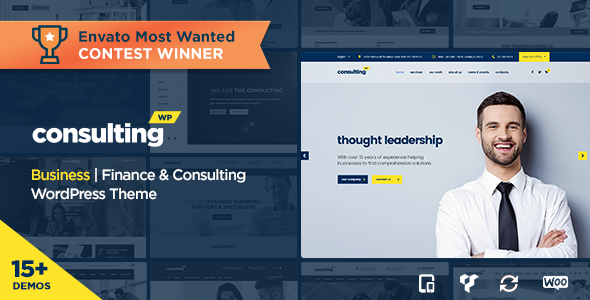 CONSULTING V3.4 - BUSINESS, FINANCE WORDPRESS THEME