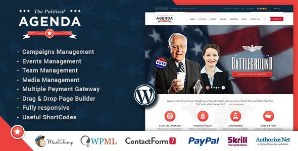 Download – Agenda – Political Responsive WordPress theme