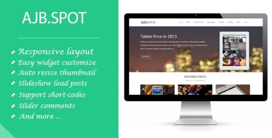 Download – Ajbspot | Responsive MultiPurpose Blogger Template