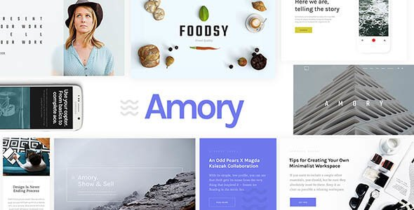 Amory v1.2.4 – Responsive Multipurpose WordPress Theme