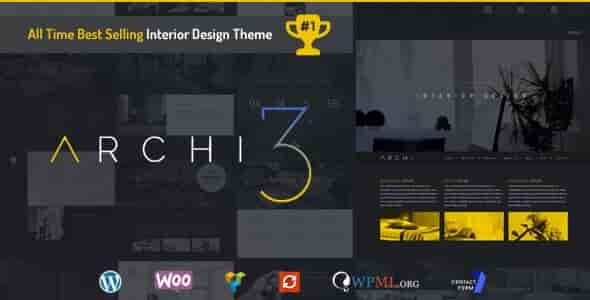 Archi v3.1.3 – Responsive Interior Design WordPress Theme