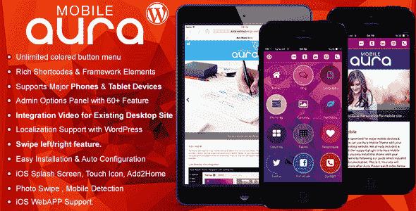 Aura v1.6.2 – Premium WordPress Mobile Theme