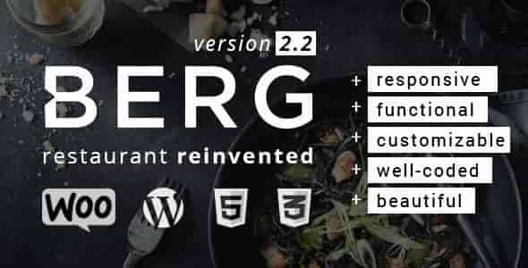 Download – BERG v2.2.15 – Restaurant WordPress Theme