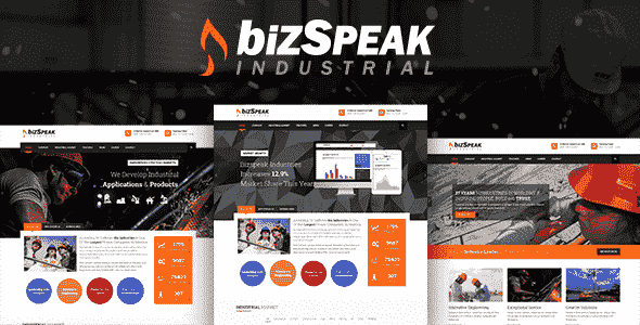 BizSpeak v1.0 – Industrial Joomla Business Template