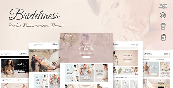 Brideliness v1.0.12 – Bridal WooCommerce WordPress Theme