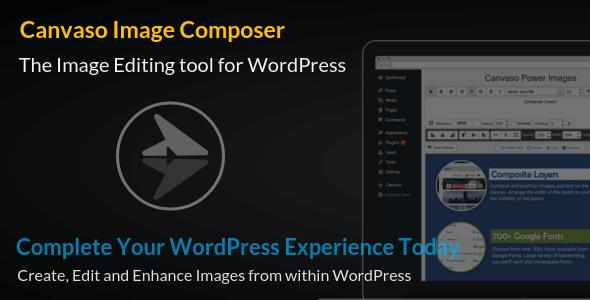 Canvaso Image Composer for WordPress v1.0 Plugin