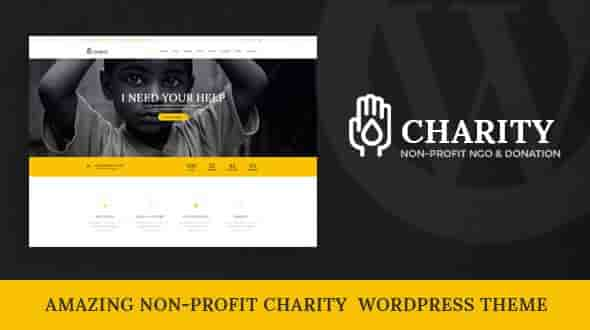 Charity v1.0 – Responsive Nonprofit WordPress Theme