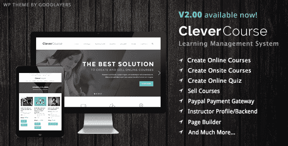 Clever Course v2.0.3 – Learning Management System Theme