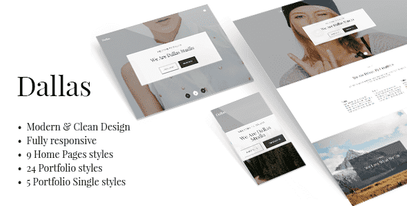 Dallas v1.4.2 – Minimal Portfolio & Business WordPress Theme