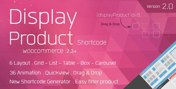 Display Product v2.0.9 – Multi-Layout for WooCommerce