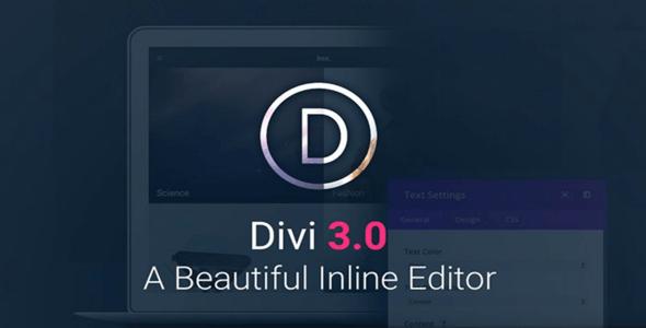 Download – Divi v3.0.24 + Builder v1.3.1.0 + Layout Pack