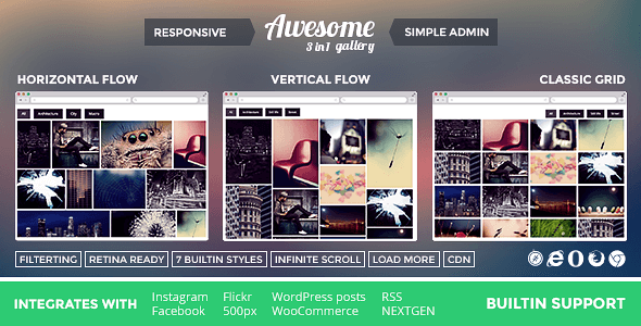 Download – Awesome Gallery v1.5.19 – WordPress Plugin