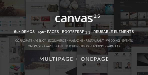 Download – Canvas v2.1 The Multi-Purpose HTML5 Template