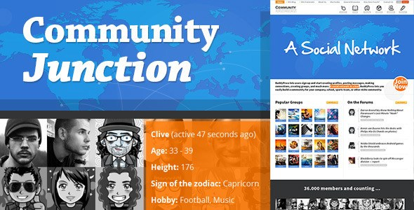 Download – CommunityJunction v1.2.1 BuddyPress WP Theme