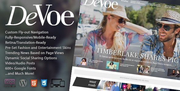 Download – DeVoe Fashion & Entertainment News Theme
