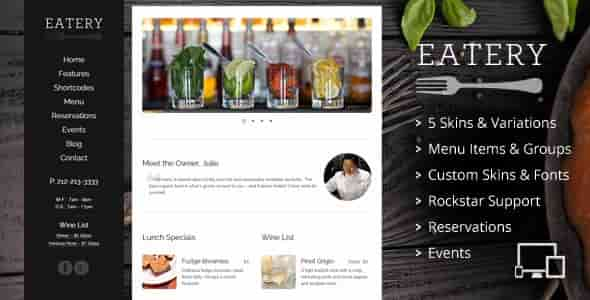 Download – Eatery v2.2 – Responsive Restaurant WP Theme