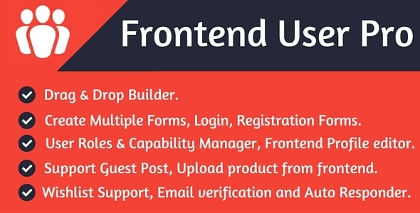 Download – Frontend User Pro v1.0 WordPress Plugin