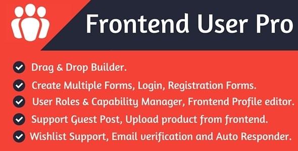 Download – Frontend User Pro v1.0 WordPress Plugin