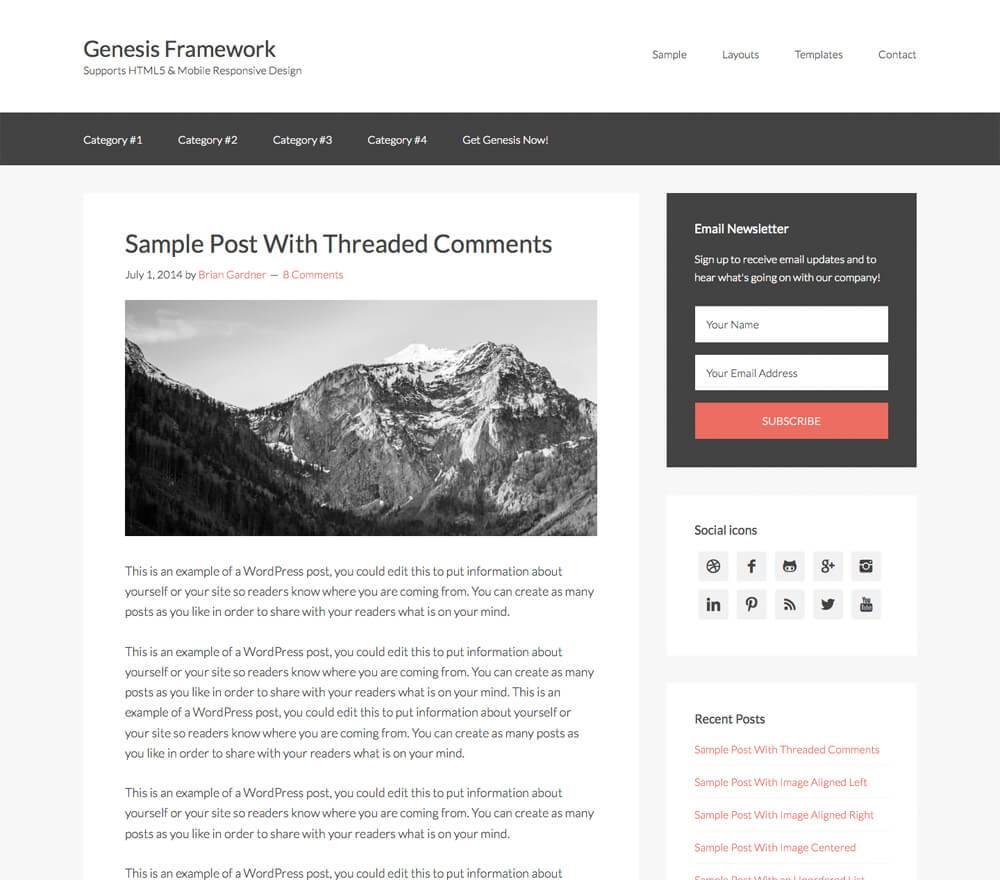 Download – Genesis v2.1.3 – WordPress Framework
