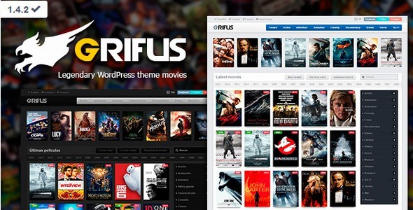 Download – Grifus v1.4.2 Mundothemes Legendary WordPress Movies…