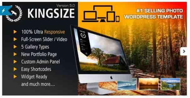 Download – King Size v4.0.1 Fullscreen Background WordPress…