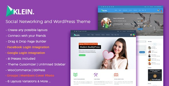 Download – Klein v3.7 – A Nitty-Gritty Community WP Theme