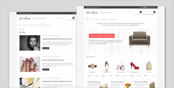Download – LA Store – Clean and Minimalist HTML Template