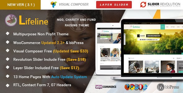 Download – Lifeline v4.0.1 – NGO Charity Fund Raising WordPress…