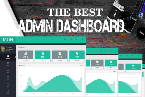 Download – MUN – Creativemarket Admin Dashboard Template