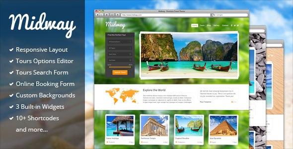Midway v3.12 – Responsive WordPress Travel Theme