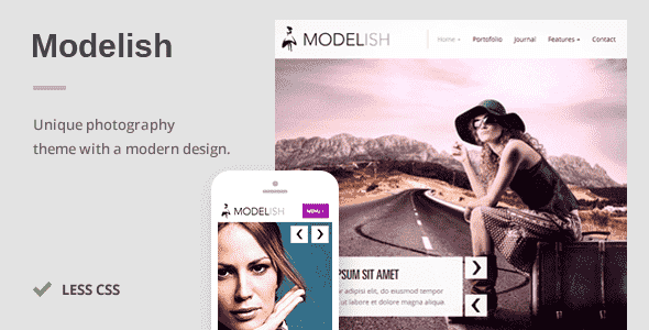 Download – Modelish A Unique Photography WordPress Theme