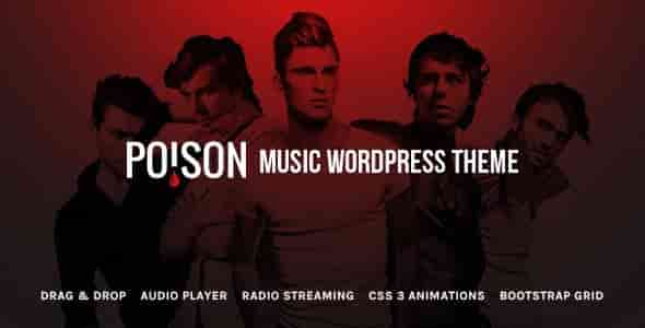 Download – Poison – Music Bands Artist Club WordPress Theme