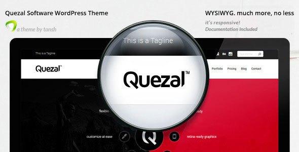 Download – Quezal – Software Responsive WordPress Theme