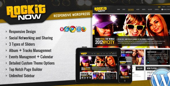 Download – Rockit Now v2.1 – Music Band WordPress Theme