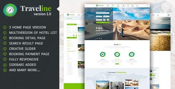 Download – Traveline – Travel Hotel Booking WordPress Theme