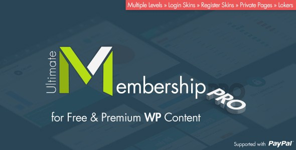 Download – Ultimate Membership Pro v3.1 WordPress Plugin