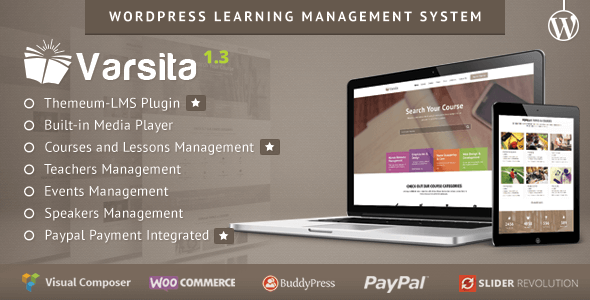 Download – Varsita v1.3 WordPress Learning Management System