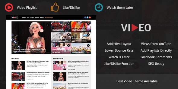 Download – Video – Mythemeshop Premium Video WordPress Theme
