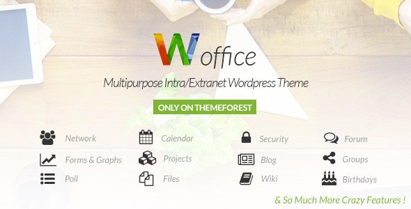 Download – Woffice v1.2.9 – Intranet/Extranet WP Theme