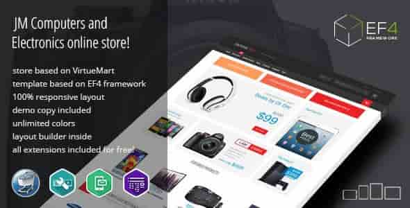 Electronics v1.03 – Multipurpose VirtueMart Online Store