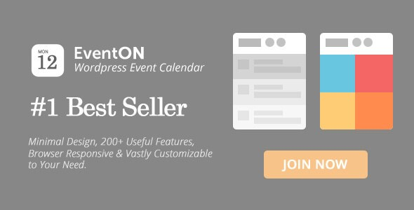 EventOn v2.4.1 – Responsive WordPress Event Calendar Plugin